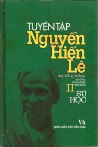 Tuyển Tập Nguyễn Hiến Lê Tập 2 - Sử Học