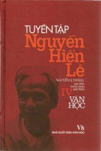 Tuyển Tập Nguyễn Hiến Lê Tập 4 - Văn Học