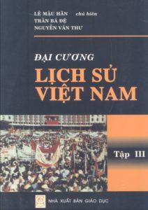 Đại Cương Lịch Sử Việt Nam Tập 3