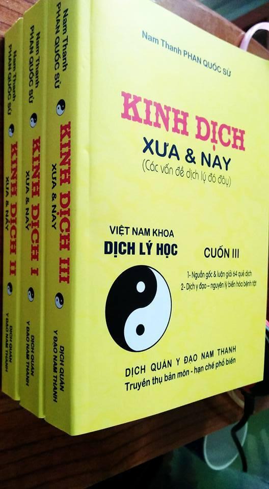 Kinh Dịch Xưa Và Nay - Nam Thanh Phan Quốc Sử (Trọn Bộ 3 Tập)