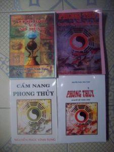 Trọn bộ sách phong thủy Nguyễn Phúc Vinh Tung