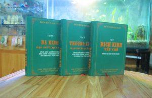 Kinh Dịch Đại Toàn - Nhân Tử Nguyển Văn Thọ (Bộ 3 Tập)