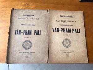Văn Phạm Pali (1+2) - THERAVĀDA